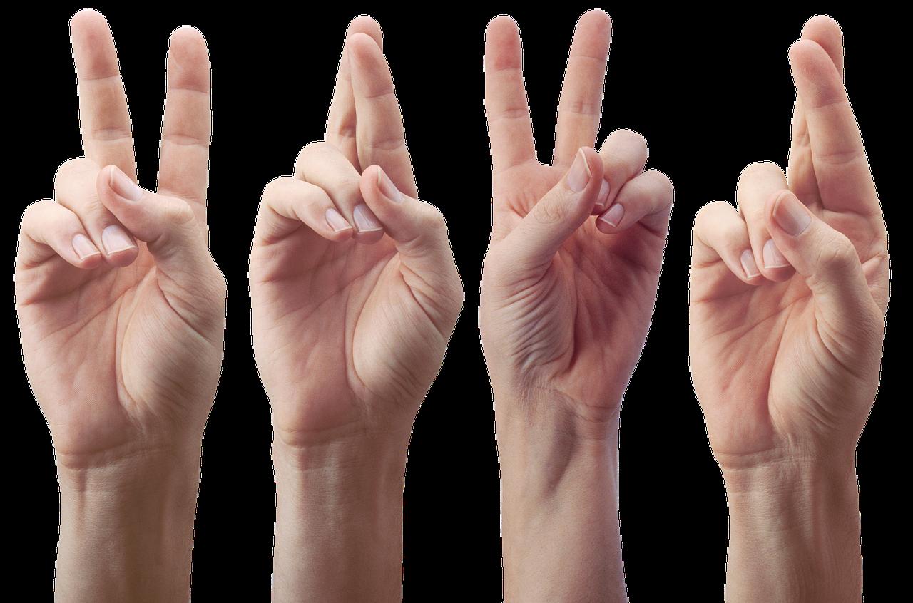 картинки жестов пальцев рук