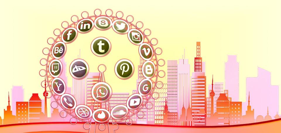 Architecture, Skyline, Social Media, Social