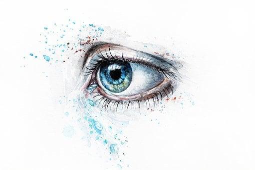 Eye, Watercolor, Art, Sketch, Eye, Eye