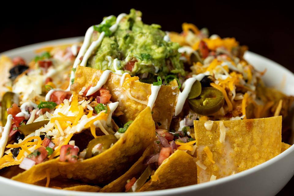 Nachos, Chips, Food, Mexican, Plate