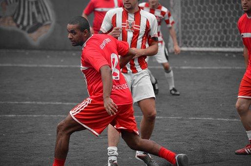 Futebol, esporte, jogo, competição
