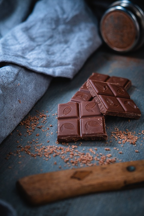 Chocolate, Sweet, Dessert, Cocoa