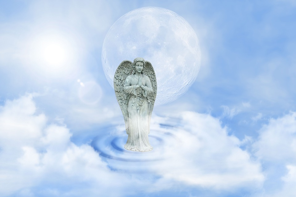 Ange Gardien, Ange, Protection, Espoir, Aile, Figure