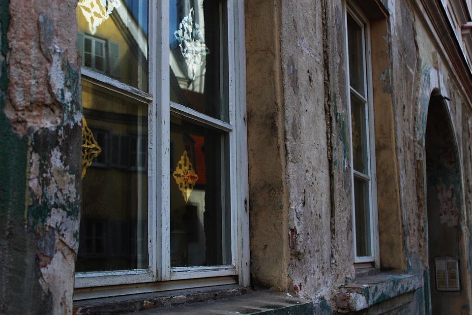 Wondrous Window Facade Broken Demolition Free Photo On Pixabay Download Free Architecture Designs Itiscsunscenecom