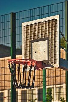 Basketball Hoop, Sport, Basketball, Play