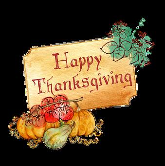 Thanksgiving, Thankful, Card, Decoration