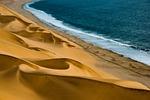wydmy, morze, wybrzeże