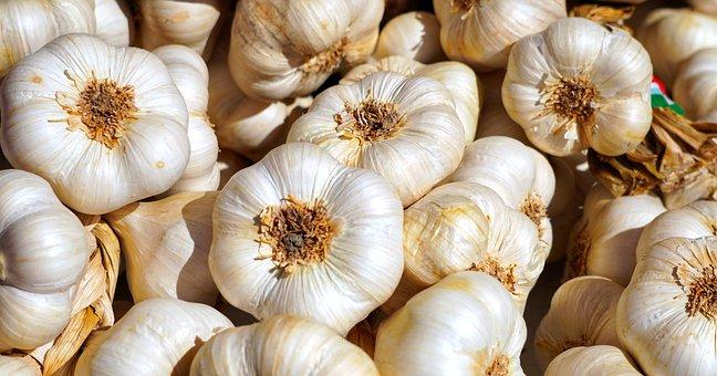 ニンニク, 塊茎, ハーブ, 食品, 地中海, 芳香族, シャープ, かなりの