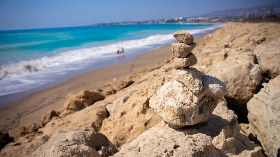 Cyprus, Paphos, Beach, Sea, Quiet, Coast, Peace Of Mind