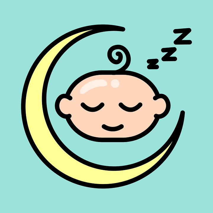 Sleep, Baby, Moon, Cute, Newborn, Child, Sleeping