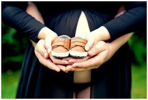 Sepatu, Tangan, Anak, Kehamilan