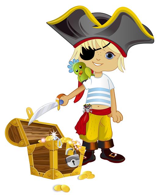 пиратский рисунок картинка