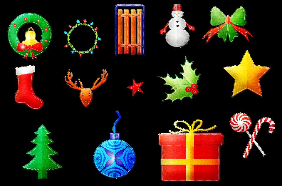 Christmas Items.Christmas Items Wreath Snowman Free Image On Pixabay