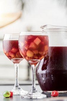 Sangría, Wine, Alcohol, Drink, Glass