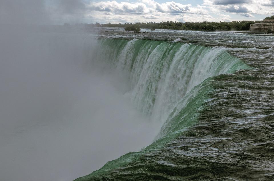 Niagara Falls, Moc Wody, Mgła Natura