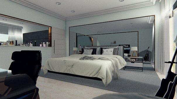 Programa digital 3D para decoración de interiores