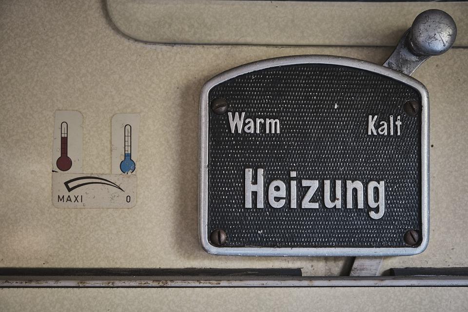 暖房, 暖かい, エアコン, 冷, 熱, エネルギー, 技術, ラジエーター, 古い, ワゴン, 鉄道, 電車