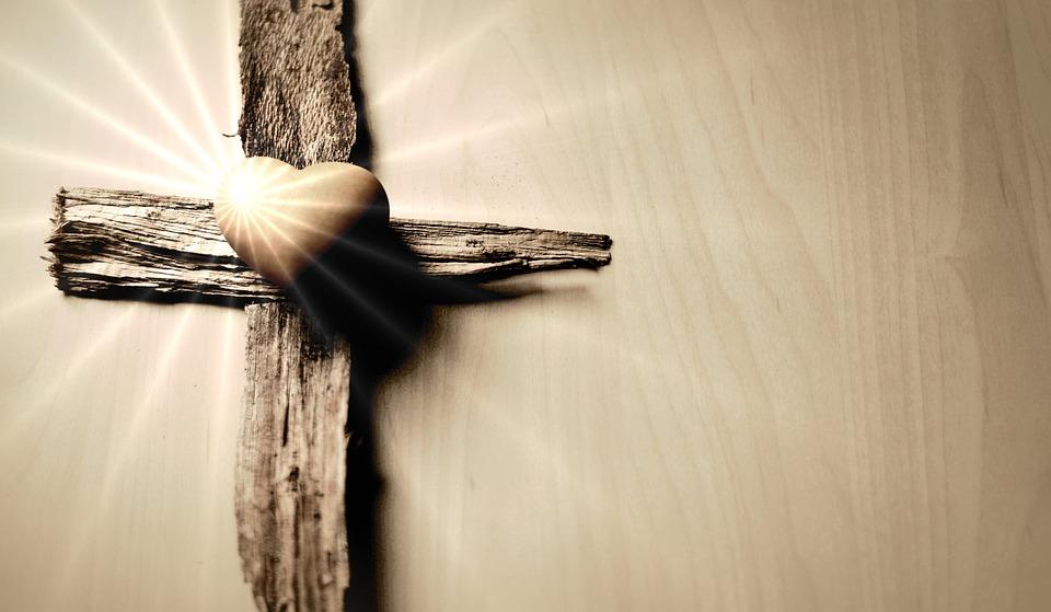 Cross, Heart, Jesus, Christ, Symbol, Christian Faith