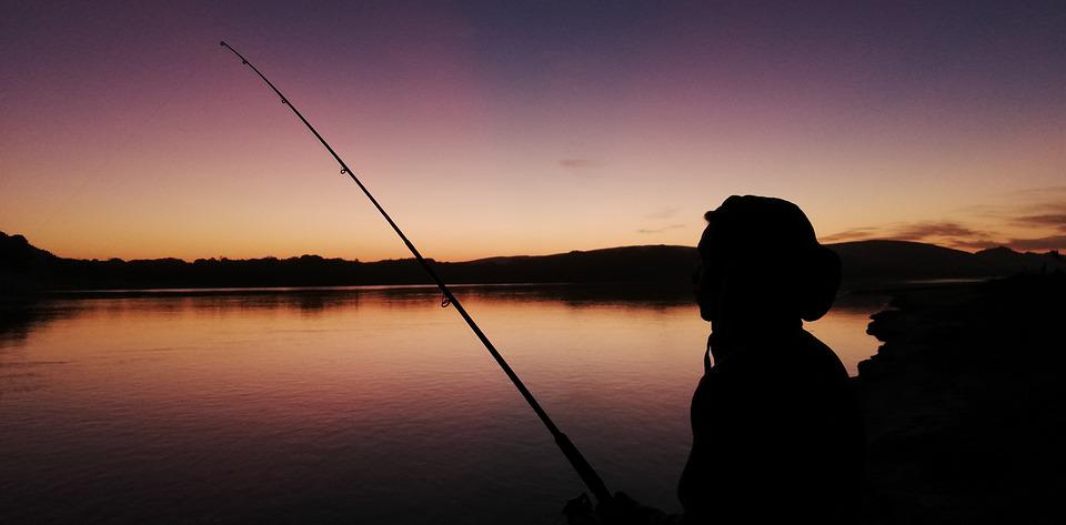 Fishing Rod Silhouette - Free photo on Pixabay