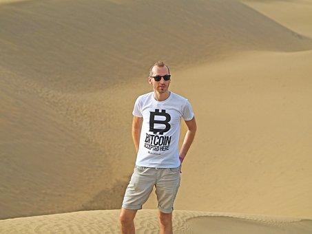 Bitcoin, Beelzebub, Dunes, Sand, Desert