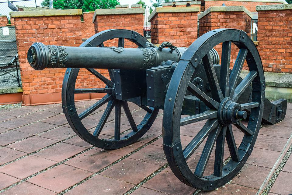 Cannon, Army, Military, Artillery, Historic, History