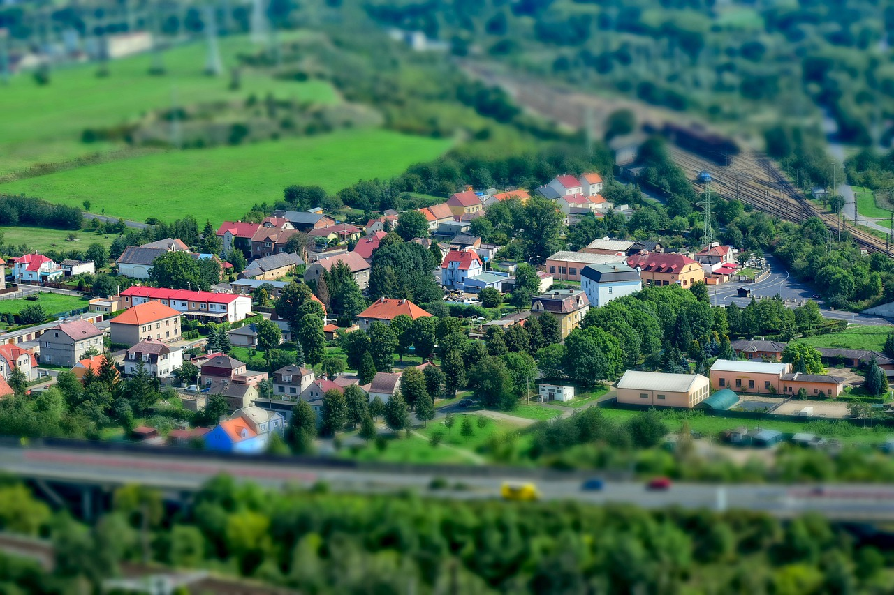 村 チェコ共和国 ミニチュア Pixabayの無料写真