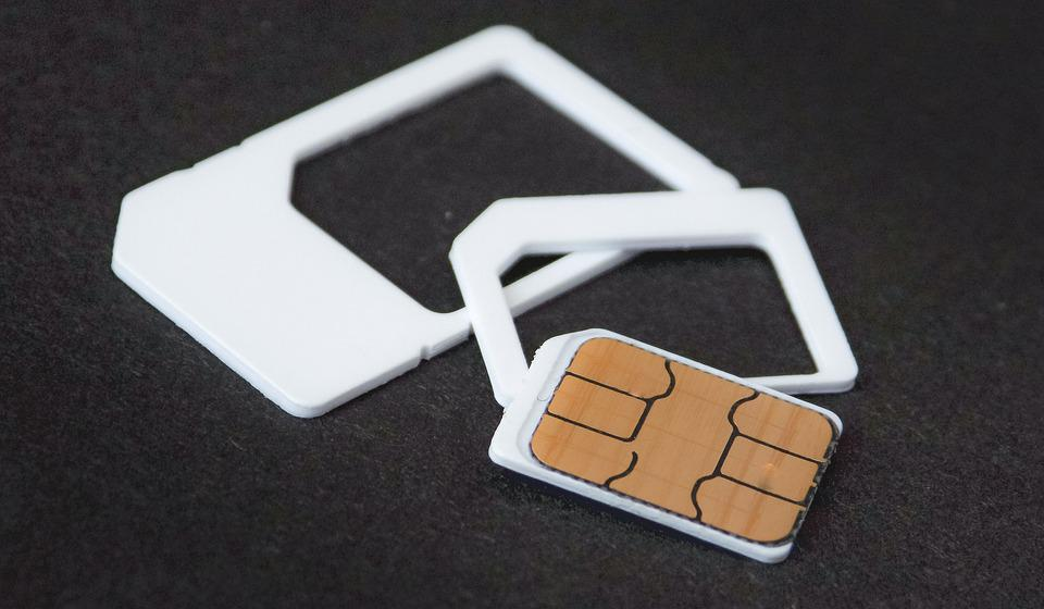 Simカード, カード, 電話, 技術, モバイル, 通信, 細胞の, 携帯電話, テレコミュニケーション