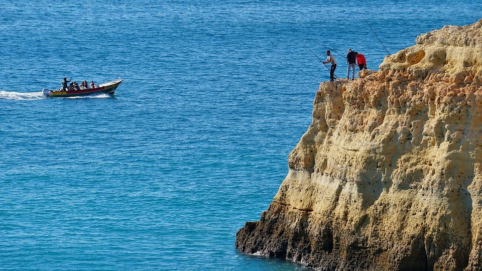 Fisherman, Fishing, Sea, Atlantic, Islands, Water