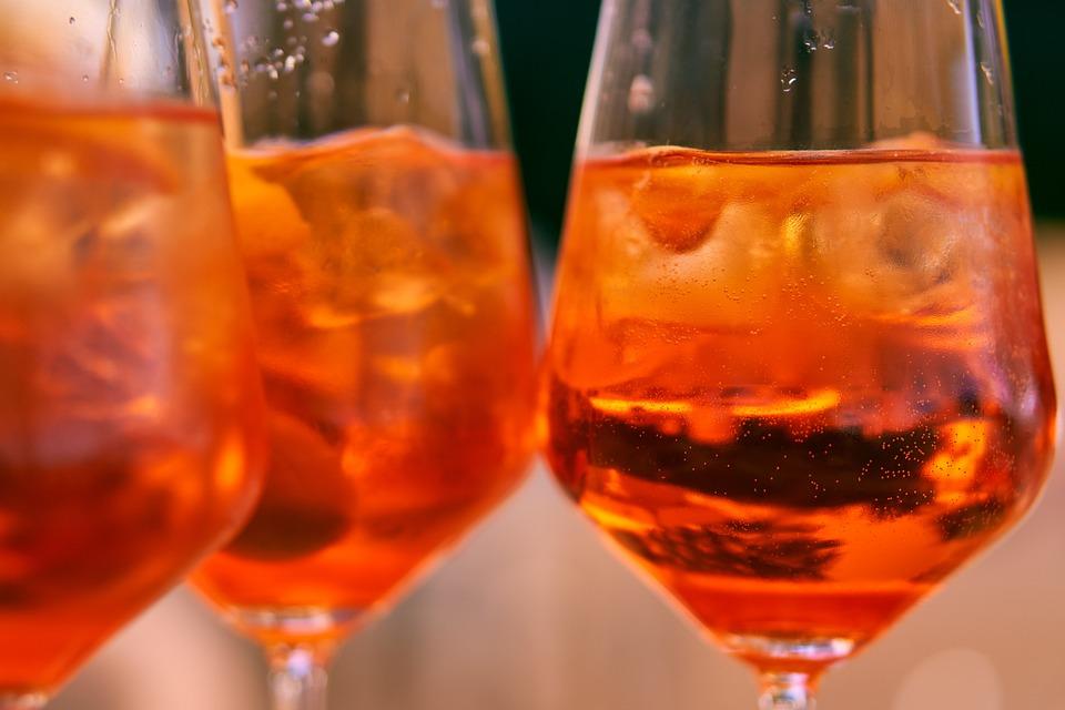 Drink, Alcohol, Glass, Wine Glass, Aperol Spritz