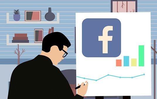 Facebook, 社会的なメディア, マーケティング, アナリスト, 計画