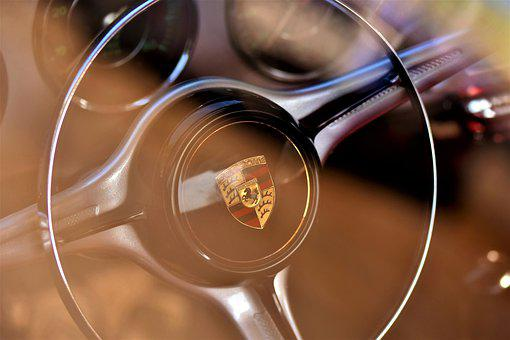 Porsche, Oldtimer, 356 C, Steering Wheel