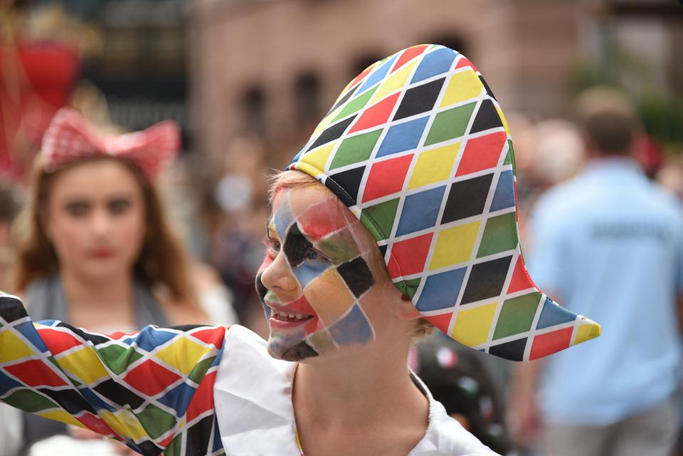 Arlecchino, Colore, Sorriso, Maschera, Carnevale