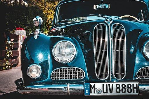 Bmw, Baroque Angel, V8, Oldtimer