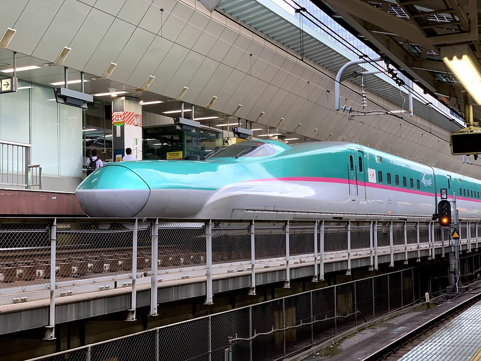Shinkansen, Bullet Train, Japan, Station, Tokyo, Tåg