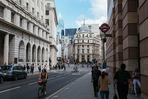 ロンドン市, 銀行, ロンドン, イングランド, 市, アーキテクチャ, 建物
