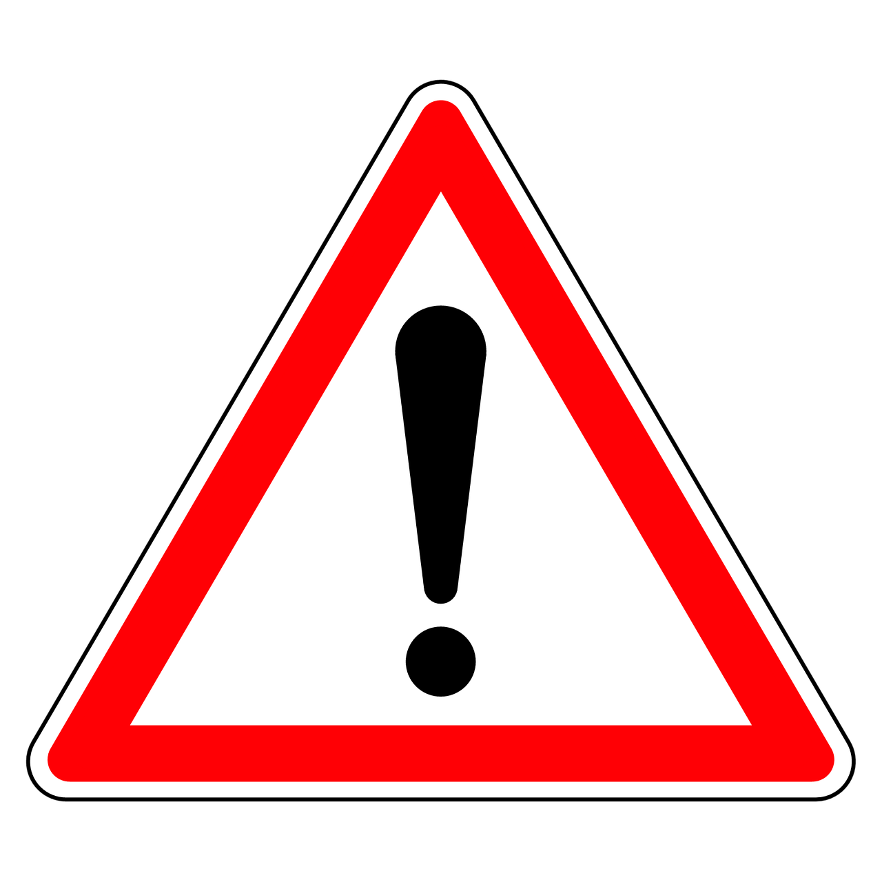 Panneau Attention Triangle - Image gratuite sur Pixabay