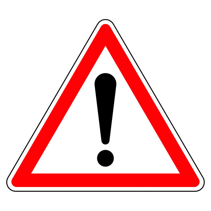 Panneau, Attention, Triangle, Danger, Rouge, Trafic