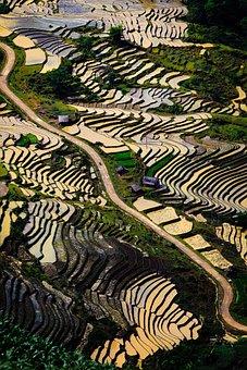 Pegunungan, Lanskap, Vietnam, Awan