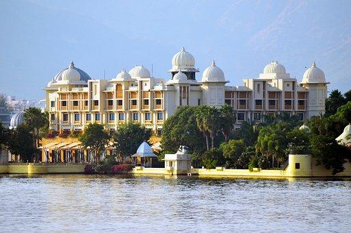 Udaipur, Lake, Rajasthan, Water