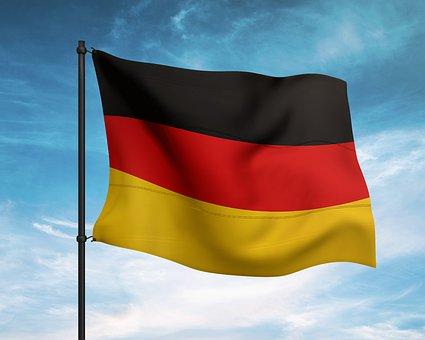 Germany, Flag, German Flag, Waving Flag