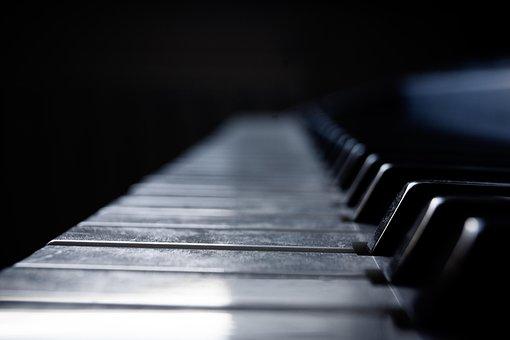 Piano, Instrument, Keyboard, White