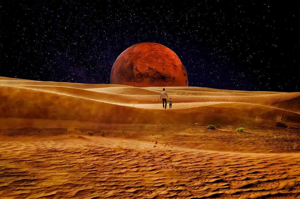Fantascienza Spazio Marte - Foto gratis su Pixabay