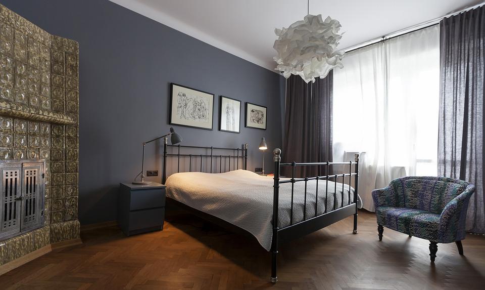 Wohnung Schlafzimmer Metall-Bett - Kostenloses Foto auf Pixabay