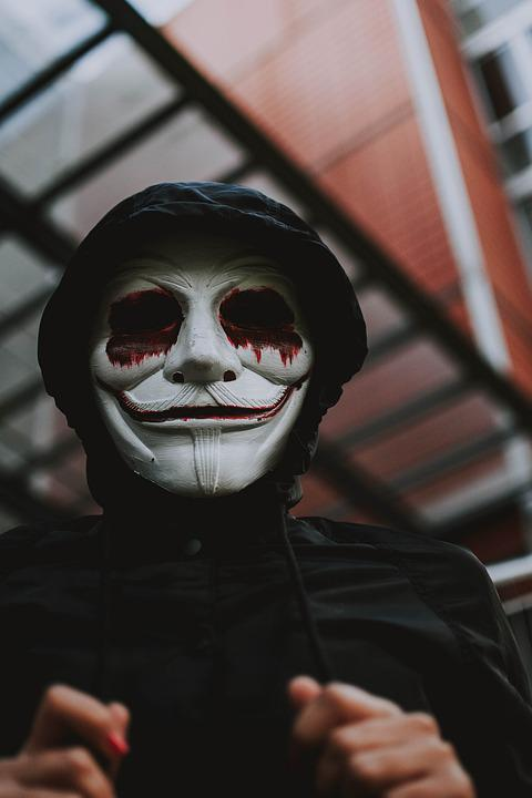 Halloween, Creepy, Masque, Mal