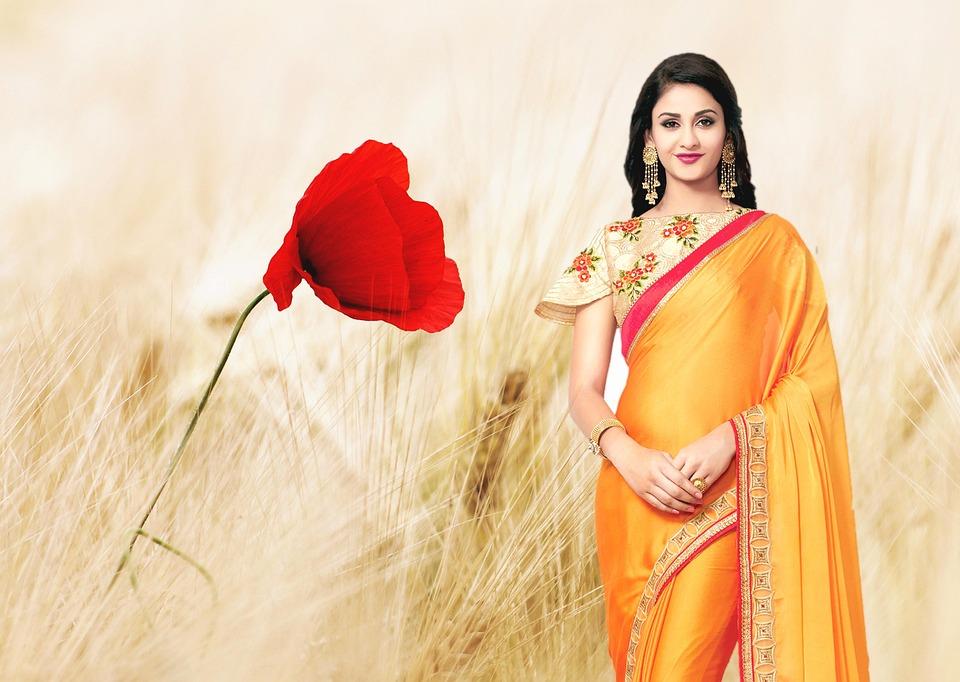 Indian Women Traditionally Saree - Free photo on Pixabay