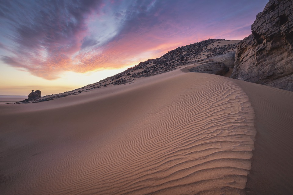 Arena, Desierto, Sahara, Paisaje, Seca, Caliente