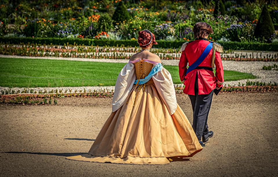 Schlossgarten, Принц, Принцесса, Человеческого