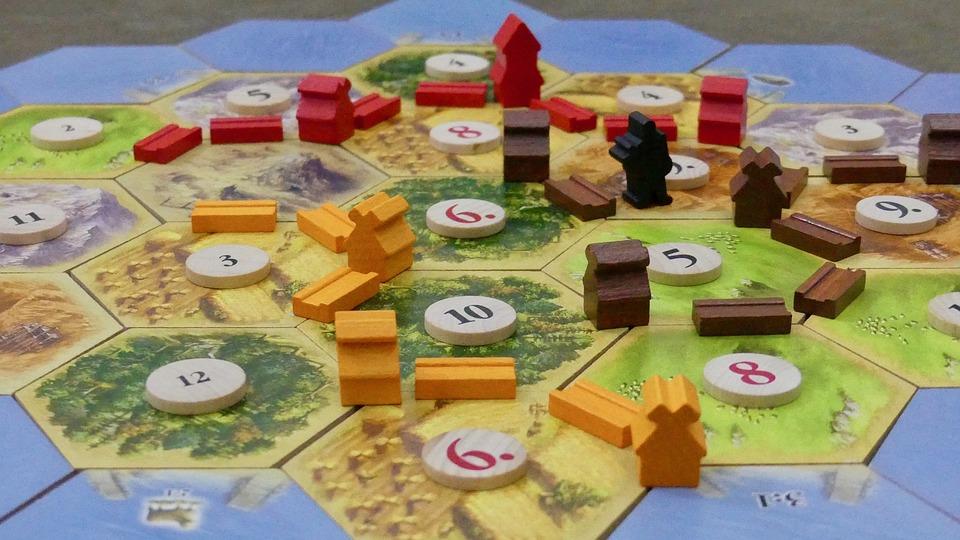 Stolní hra osadníci z Katanu