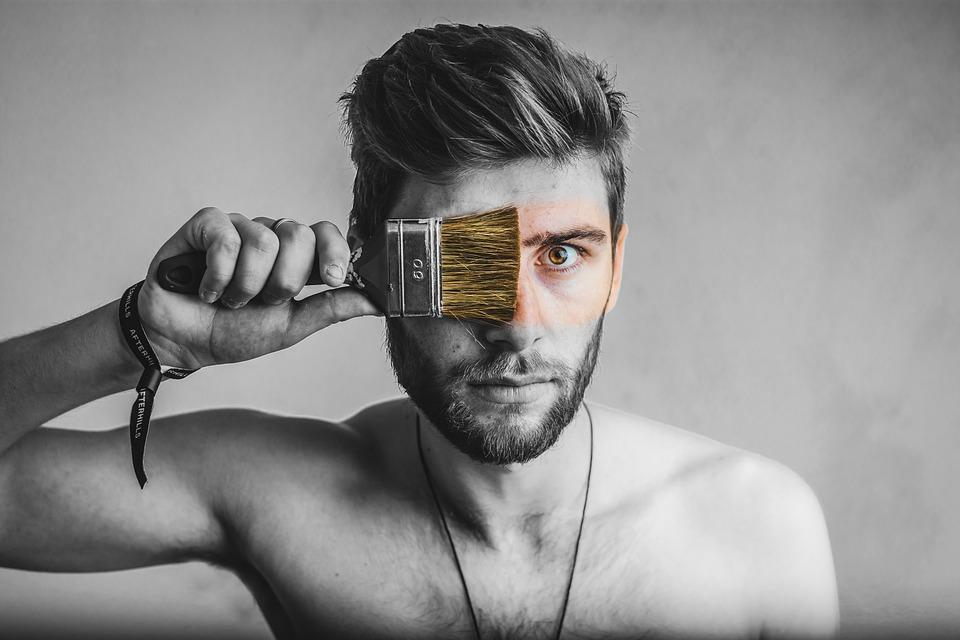 Laki Hitam Dan Putih Potret Foto Gratis Di Pixabay
