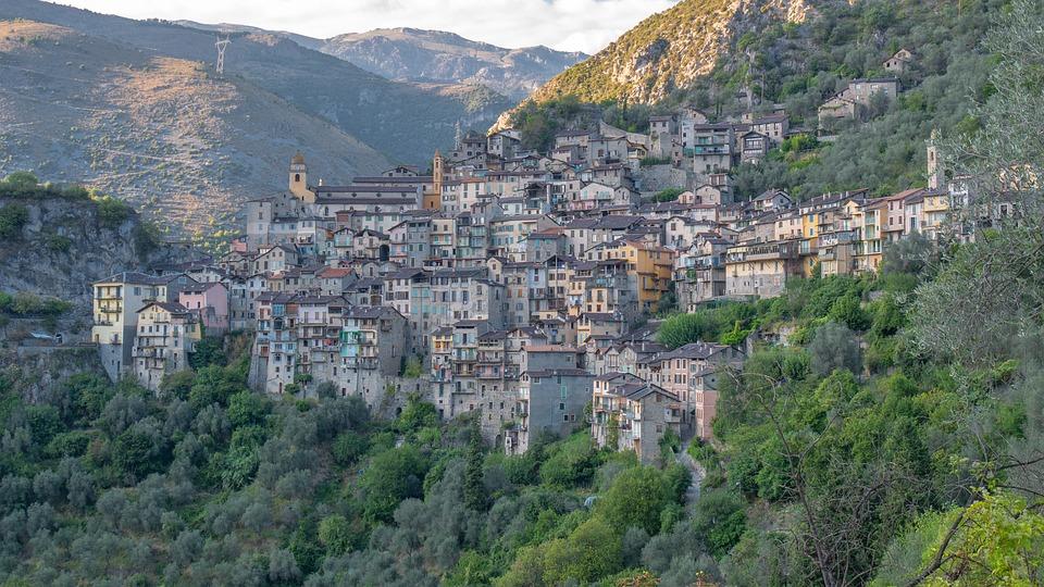 Berglandschaft, Frankreich